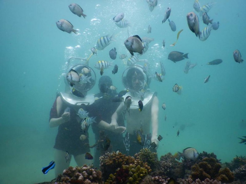 Bali Seawalker Snorkeling & Spa Package
