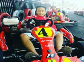 Bali GoKart, speed activity in Bali