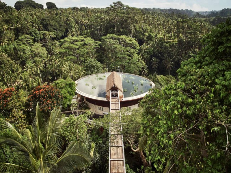 Four Seasons Ubud, Bali | Obama choose to stay with family here